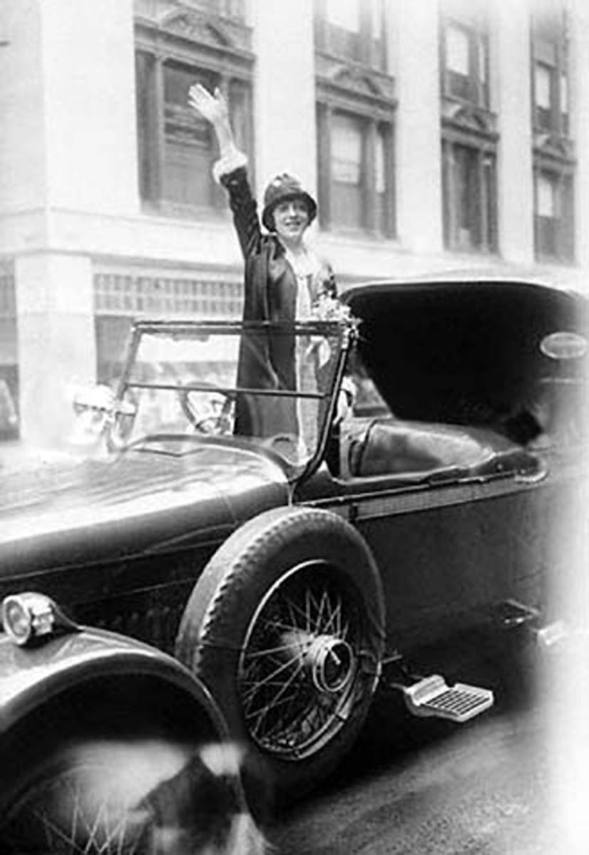 JULIA (BREW) BENSON - Looking for Mabel Normand