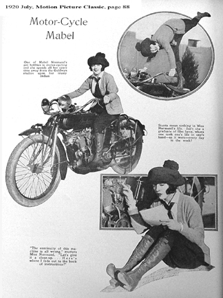 Motorcycle mabel looking for mabel normand for Meaning of farcical in hindi